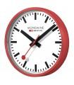 Mondaine Wall Clock - Orologio da parete rosso