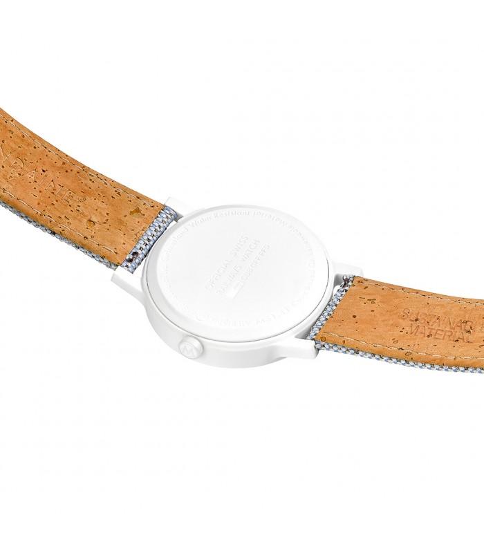 Cinturino tessuto e sughero / Essence 20 mm